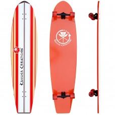 "Kahuna Creations Bombora 59"" Longboard Complete - Coral"