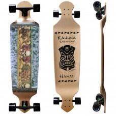 "Kahuna Creations Island Lifestyle Drop Deck 43"" Longboard Complete"