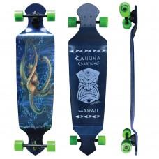 "Kahuna Creations Seeker Drop Deck 43"" Longboard Complete"