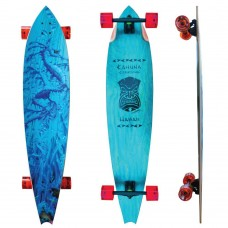 "Kahuna Creations Haka Sea Dragon 47"" Longboard Complete"