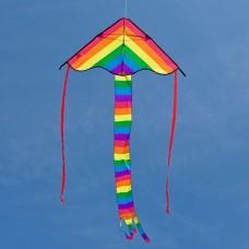 HQ Ecoline Radiant Rainbow Single Line Kite